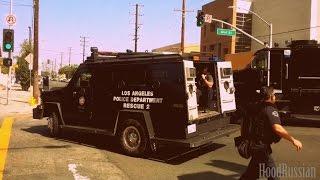 Задержание членов  банды в США | 3/4 | Лос-Анджелес
