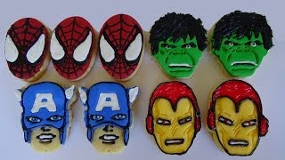 Sugar Cookies Marvel Heroes