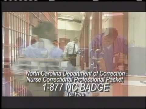 Correctional nursing with the NC Dept. of Correction