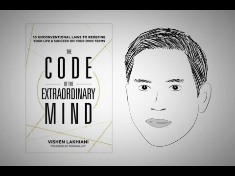 THE CODE OF THE EXTRAORDINARY MIND by Vishen Lakhiani | Animated Core Message