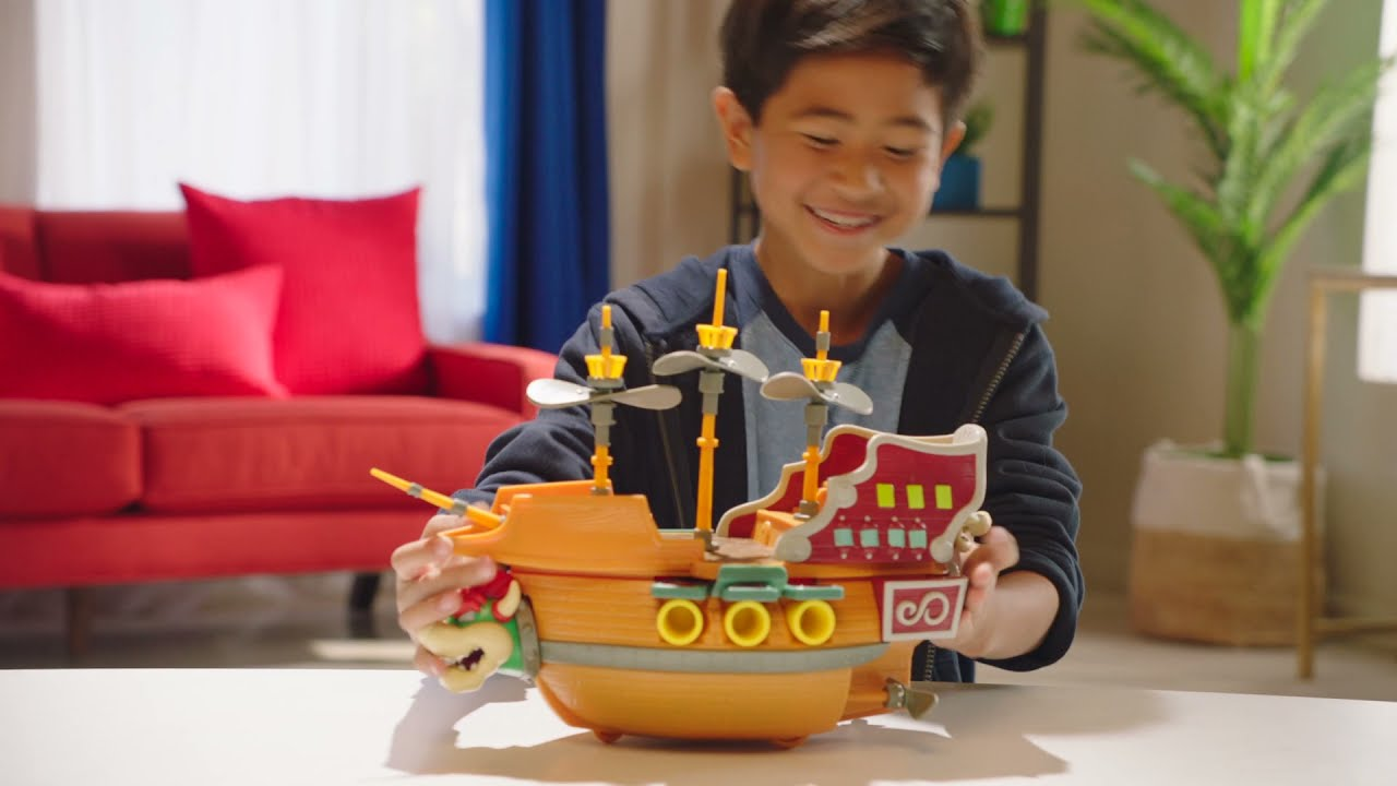 Super Mario Bowser's Airship Commercial   JAKKS Pacific