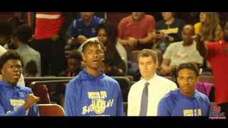 Trevur Smalls of Berkeley High School Basketball Highlights