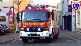 🚨 ELW + TLF 16/25 + [Airhorn] LF 16/12 Feuerwehr Schmölln