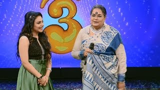 Onnum Onnum Moonu Season 2 I Ep 01 - Grand entry with Usha Uthup I Mazhavil Manorama