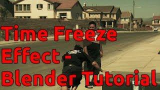 Time Freeze Effect - Blender Tutorial