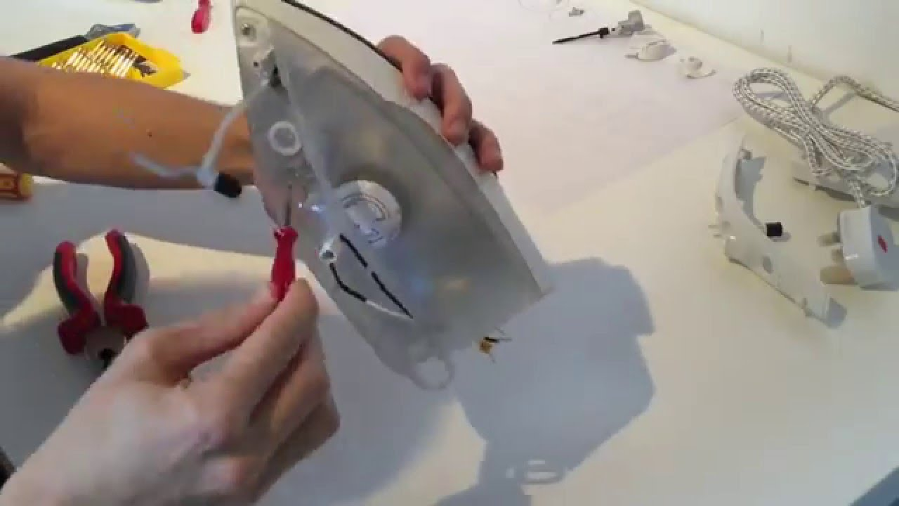 Steam Iron Disassembly Timelapse - YouTube