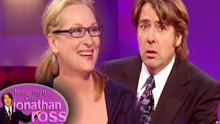 Meryl Streep's Vicious Encounter With Dustin Hoffman | Friday Night With Jonathan Ross