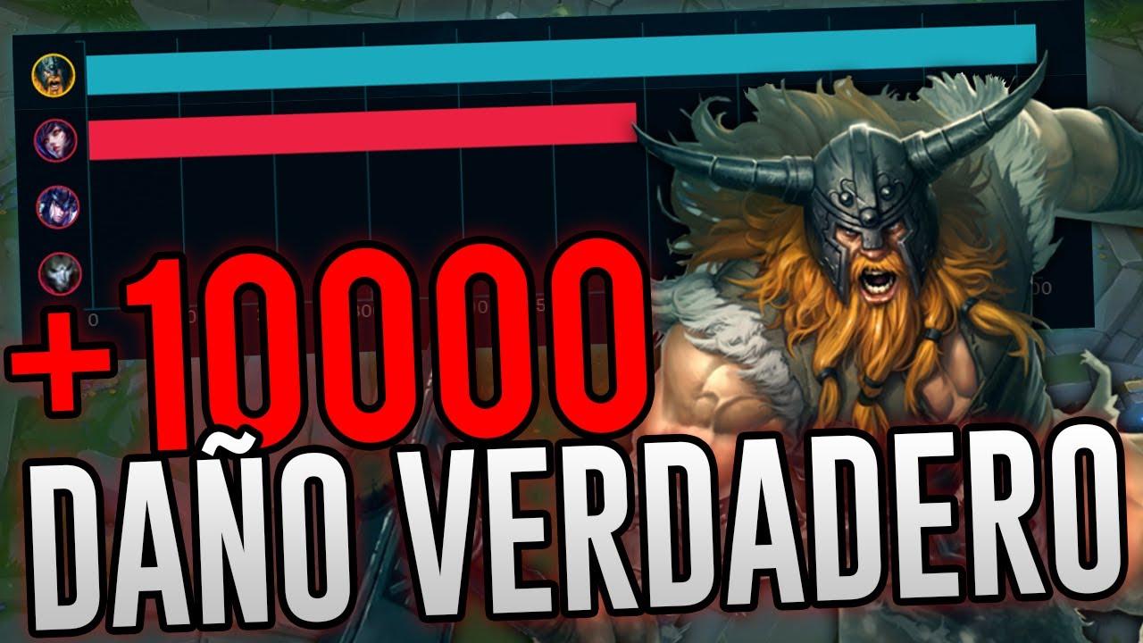 BUILD AD!? - ¿ES REALMENTE RENTABLE? - 10000 DE DAÑO VERDADERO ...
