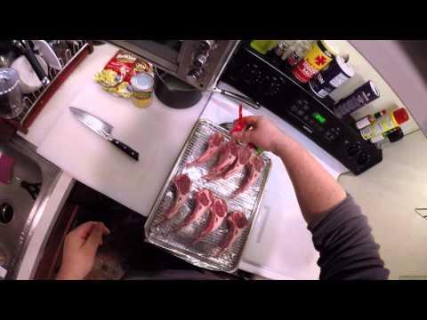 Z Cooks - Cast Iron Lamb Chops