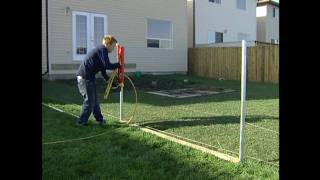 Vinyl Fencing Install Video Straightn'level Fencing Solutions  Post Collar