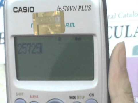 Phân tích thành thừa số nguyên tố trên Casio fx 570VN PLUS