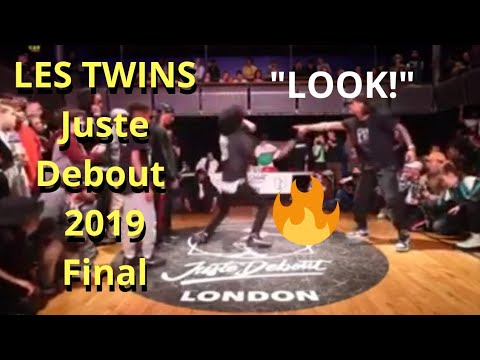 🔥🔥Juste Debout UK 2019 LES TWINS FINAL Vs Demarre & K-Wild