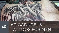 60 Caduceus Tattoos For Men