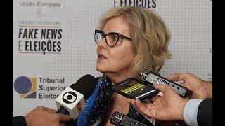 O Seminário Internacional Fake News e Eleições foi realizado, nos dias 16 e 17 de maio, pelo TSE com o apoio da União Europeia. Encontre-nos nas redes ...