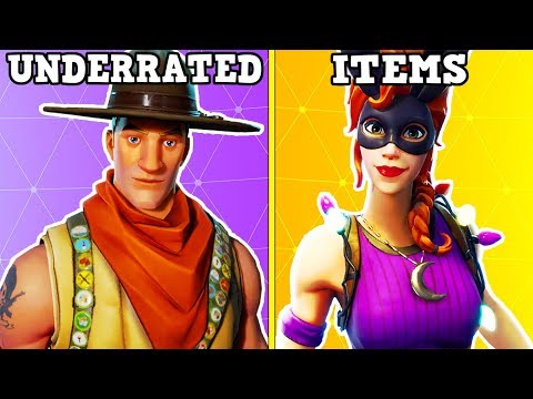 20 UNDERRATED SKINS + ITEMS YOU NEED TO BUY IN FORTNITE!