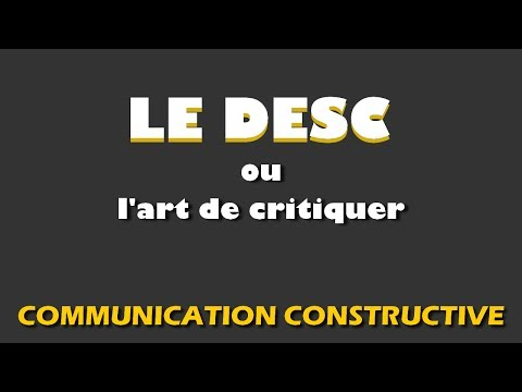 Communication constructive LE DESC