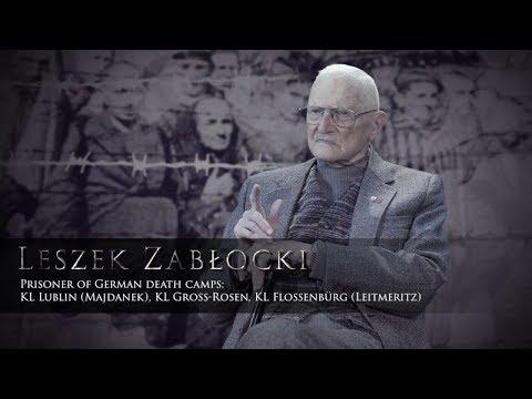 Poruszająca wypowiedź więźnia niemieckich obozów koncentracyjnych