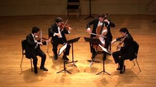 Ludwig van Beethoven: String Quartet No.3 in D major, Op.18, No.3 (1798 and 1800)