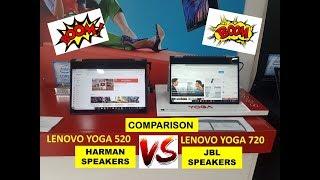 HARMAN vs JBL Speakers Lenovo  Lenovo YOGA 520 vs Lenovo YOGA 720  