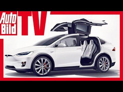 Tesla Model X - die elektronische...
