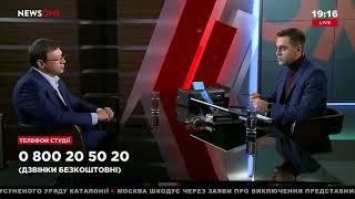 Евгений Мураев в «Большом вечере» на телеканале NewsOne, 31.10.17