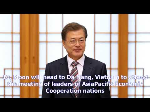 Moon to hold third summit with trump, attend asean, apec meetings in november- [News 24h]
