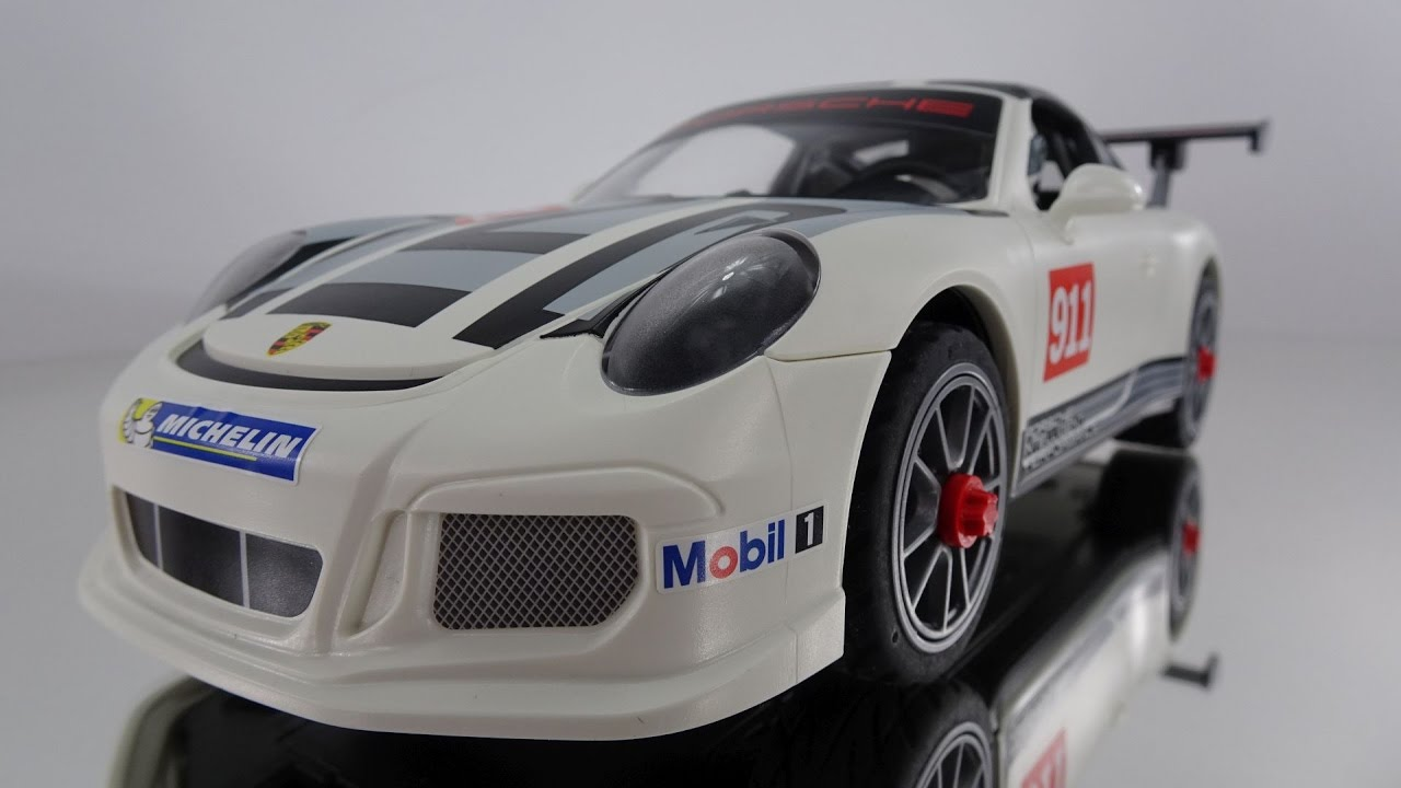 playmobil 9225 porsche 911 gt3 cup youtube. Black Bedroom Furniture Sets. Home Design Ideas