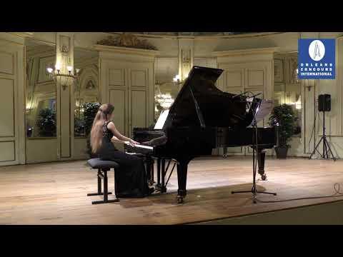 Concours international de piano d'Orléans 2018: MAROUSSIA GENTET - First Round