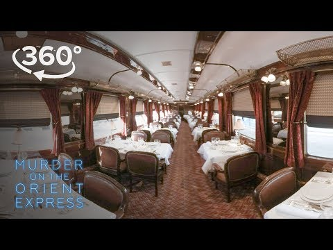 Murder on the Orient Express | Go Inside The Orient Express In 360° | 20th Century FOX