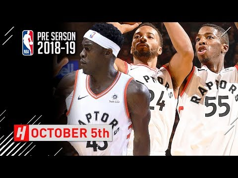 Norman Powell, Pascal Siakam & Delo Wright Full Highlights vs Melbourne United 2018.10.05 - SICK!