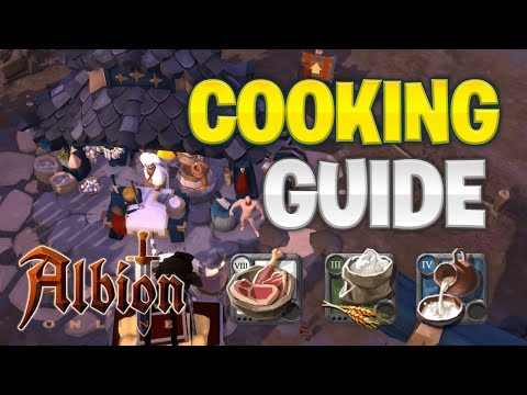 Albion Online | Cooking Guide  (MAKE SILVER COOKING)