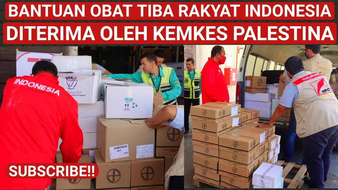 BANTUAN OBAT-OBATAN INI AMANAH RAKYAT INDONESIA, TERIMA KEMKES