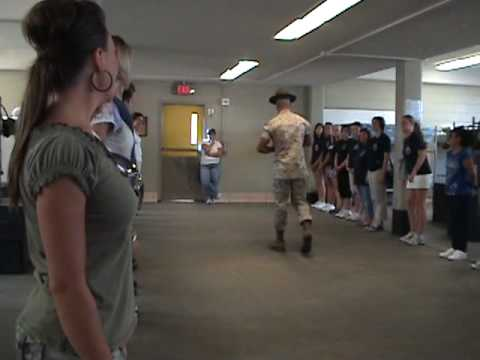 # 1 Getting Squared Away In The Squad Bay - Parris Island Tour 7-29-10 1.MPG