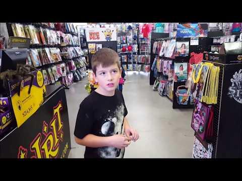 Kid Temper Tantrum Meets The Devil At Spirit Halloween Store [ Original ]