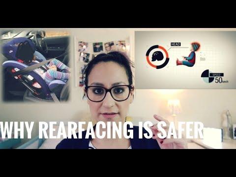 FORWARD FACING VS REAR FACING CAR SEAT | YAMMY MACKIN (2018)