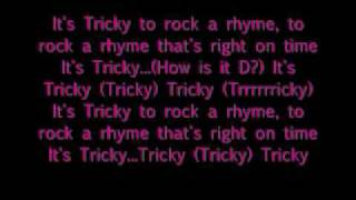 It's Tricky Run D.M.C. with lyrics