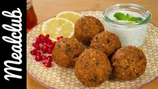 Falafel mit Minzsauce (orientalisch)  MealClub