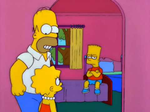 Homer Sings Odd Couple Theme