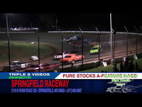 Springfield Raceway Pure Stock A-Feature Race July 8, 2017