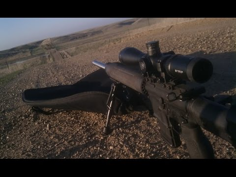 Using a Mildot reticle with MOA adjustments