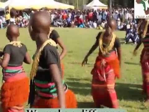 CHILD AFRICAN CHILDREN DANCING BUGANDA DANCE