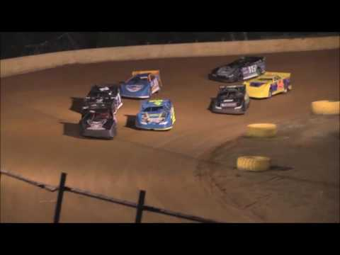 Pro Late Model Heat #1 from Ponderosa Speedway, September 30, 2016.
