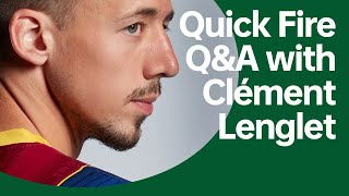 Quick Fire Q&A with Clément Lenglet | OPPO x FC Barcelona