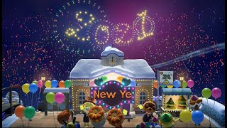 Animal Crossing New Horizons New Year Countdown Event! (2021)