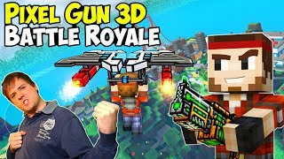 Pixel Gun 3D Battle Royale Gameplay & Hitman Pistol iOS Android PG3D