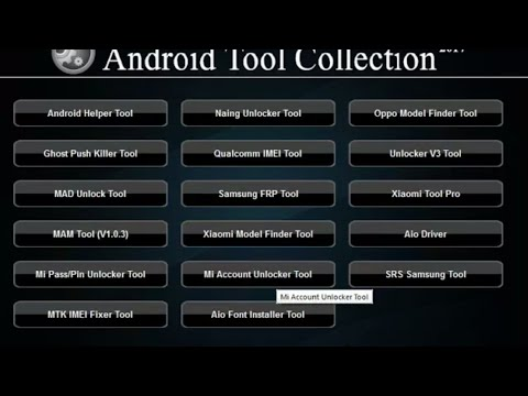 All In One Android Tool Collection 2017 | All Frp Tool | IMEI Tool | Mi Account Unlock Tool | Hindi