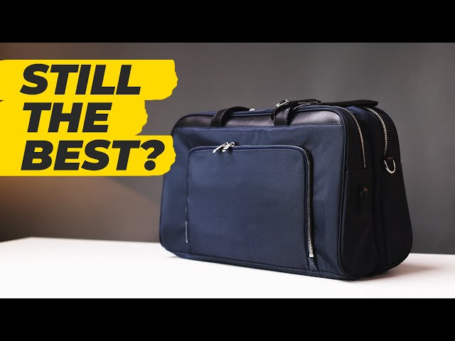 The Best Underseat Luggage | The Only Carry-On Travel Bag You Need? • Effortless Gent
