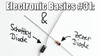 Electronic Basics #31: Schottky Diode & Zener Diode