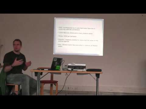 Developments and struggles within education system in Germany (Nov. 2013)