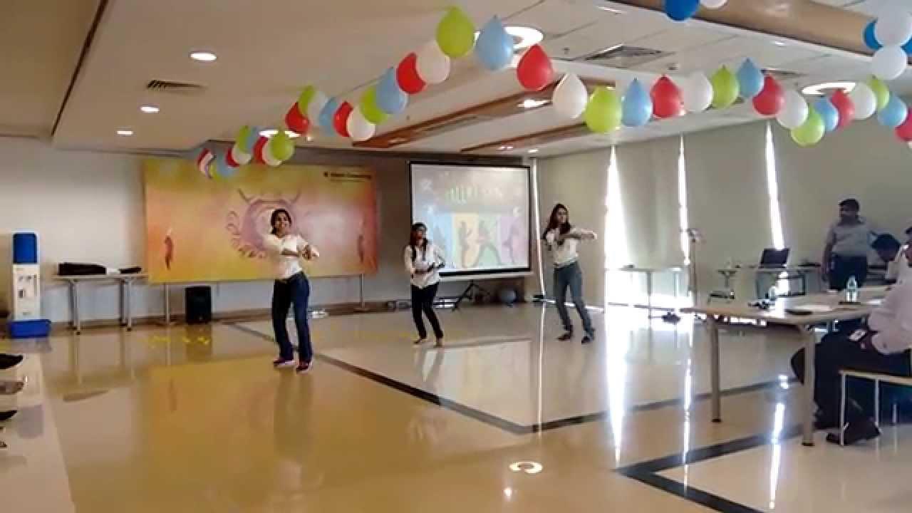 Kakatiya Warrior's Group Dance - Hitachi Consulting - YouTube